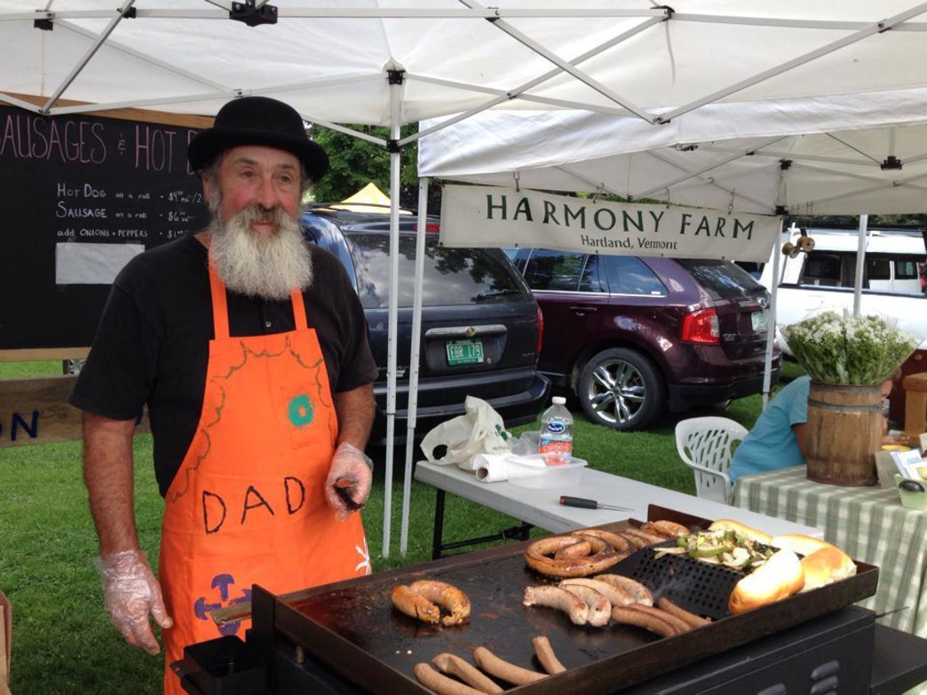 Stop by the farmer's market for a yummy and local bite to eat!