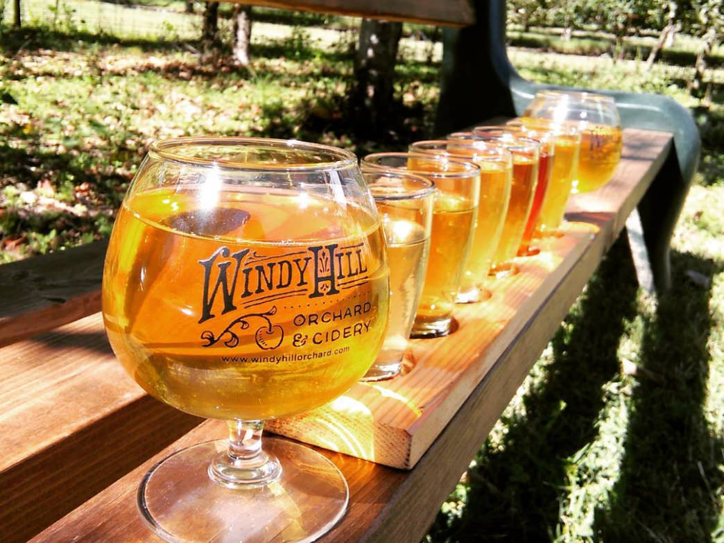 Windy Hill Orchard & Cider Mill is one of several Carolina cideries that have popped up in recent years.