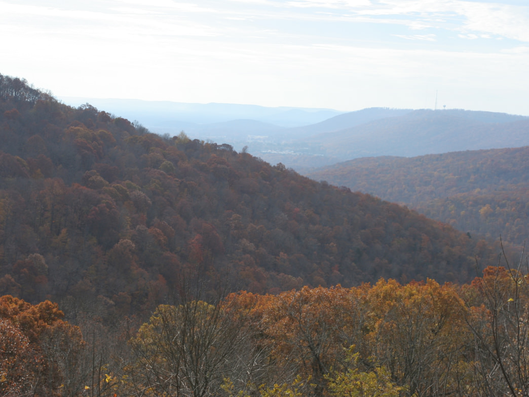 Monte Sano in the fall