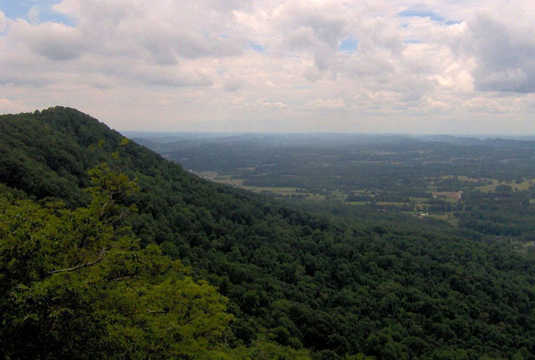 House Mountain is an easy drive from downtown Knoxville.