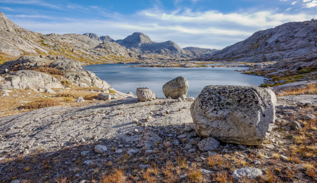 The Titcomb Basin is perfect for an alpine backpacker.