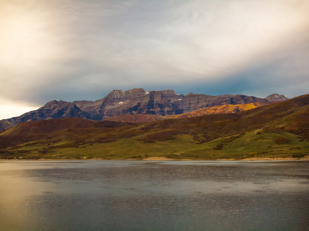 Utah Deer Creek Reservoir