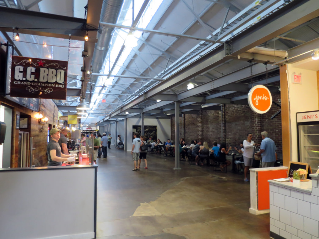 Krog Street Market is a perfect spot to stop and have dinner.