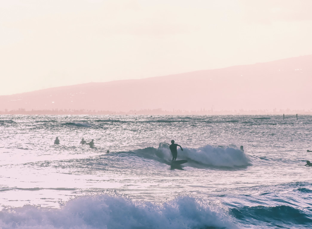 Soak up Oahu's beach scene in the fall, when summer tourists have left.       Tyler Lastovich