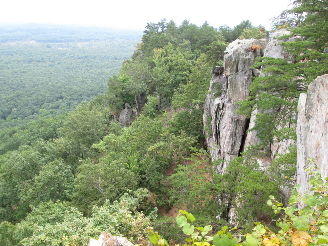Crowders Mountain State Park offers some beautiful vistas and tough trails for adults, but also some flat trails for the young ones.