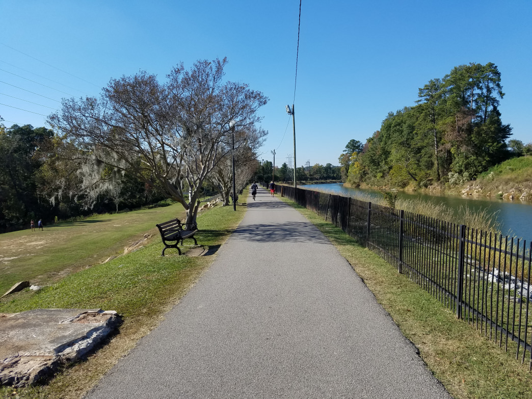 Riverfront Park offers a history lesson for you and a long stretch of running room for your four-legged buddy.     Rob Glover