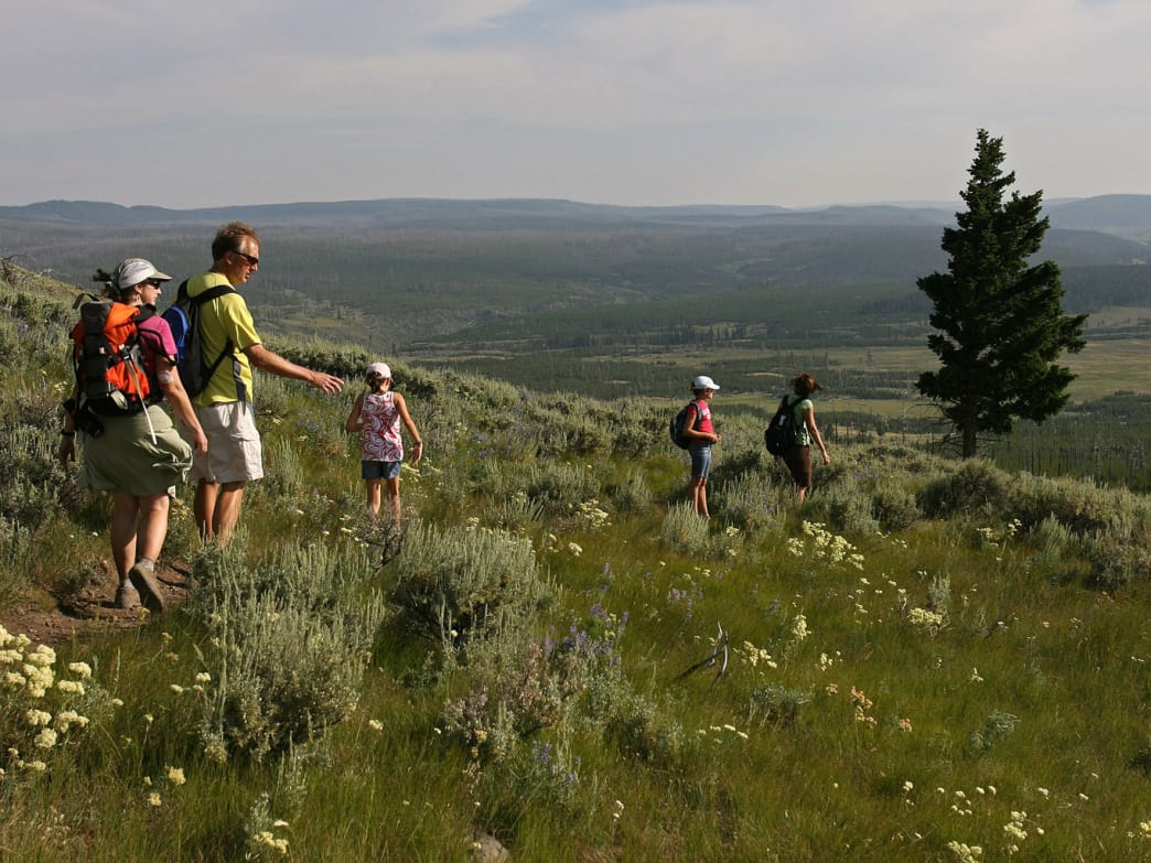West Yellowstone, Montana, offers some of the best hiking in the state.