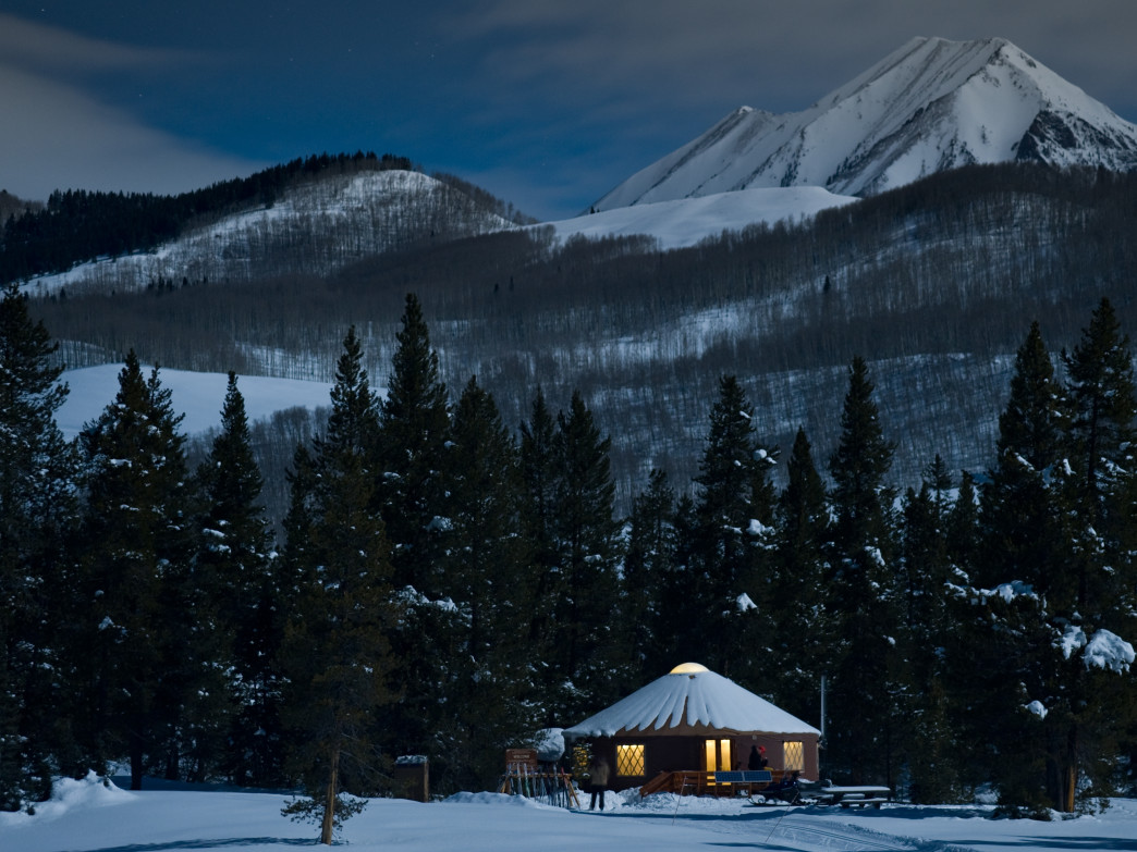 The Magic Meadows Yurt in Crested Butte is, indeed, a magical place.