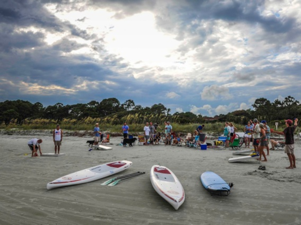 Families, young campers, corporate leaders and professional athletes all bond through the paddlesports activities provided by Outside Hilton Head.