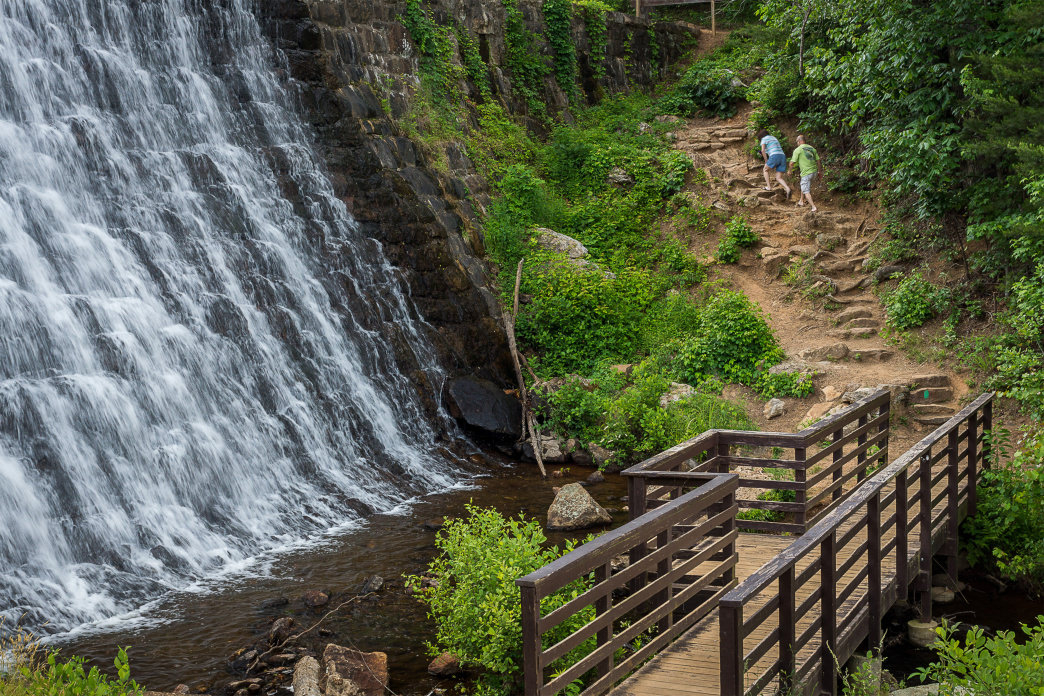 Whether riding or hiking, the trails at Paris Mountain State Park lead to many amazing spots.