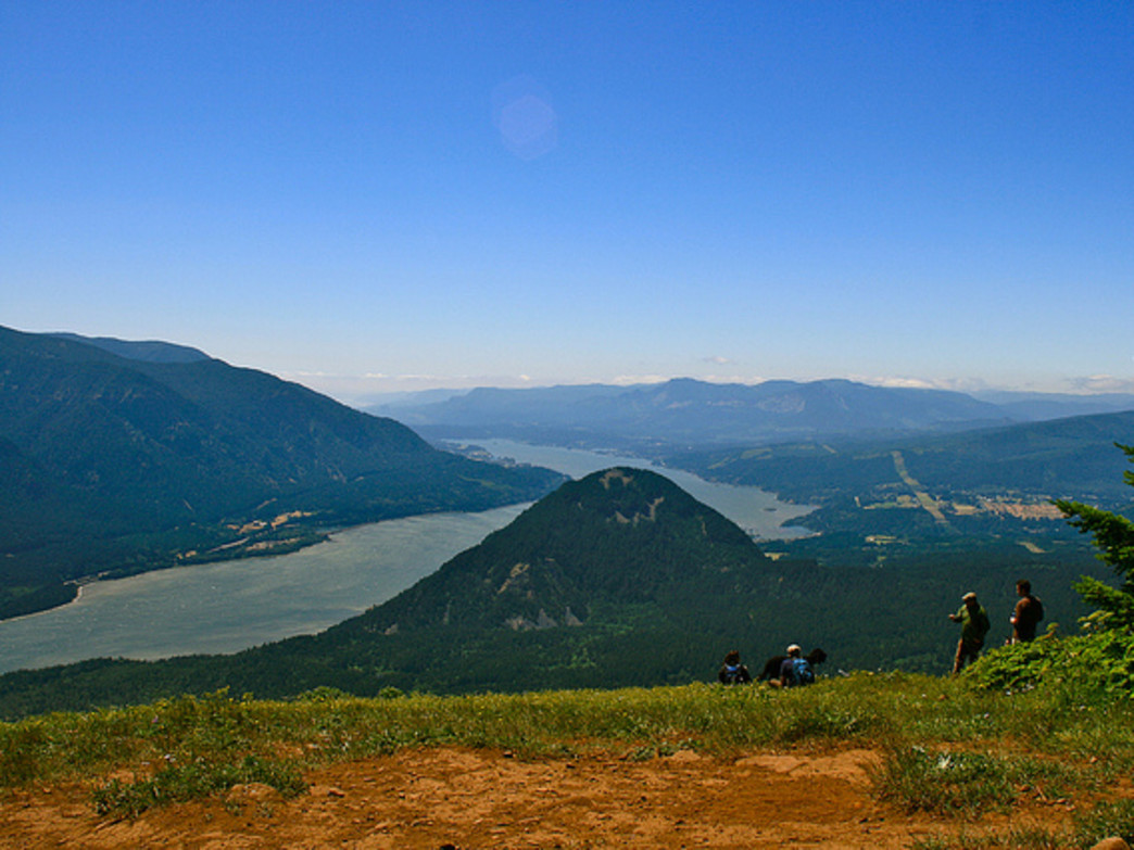Dog Mountain is a popular early-season trek for veteran hikers looking to get into shape.