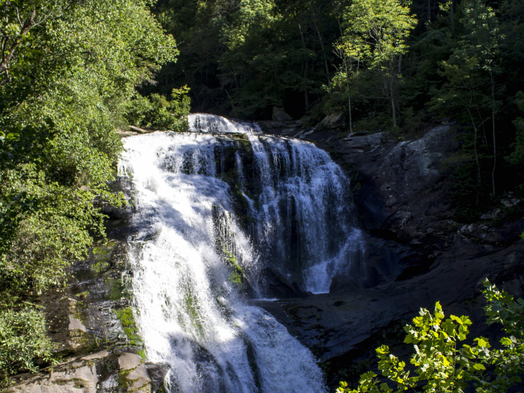 Expect to see waterfalls on the Bald River Gorge Trail.