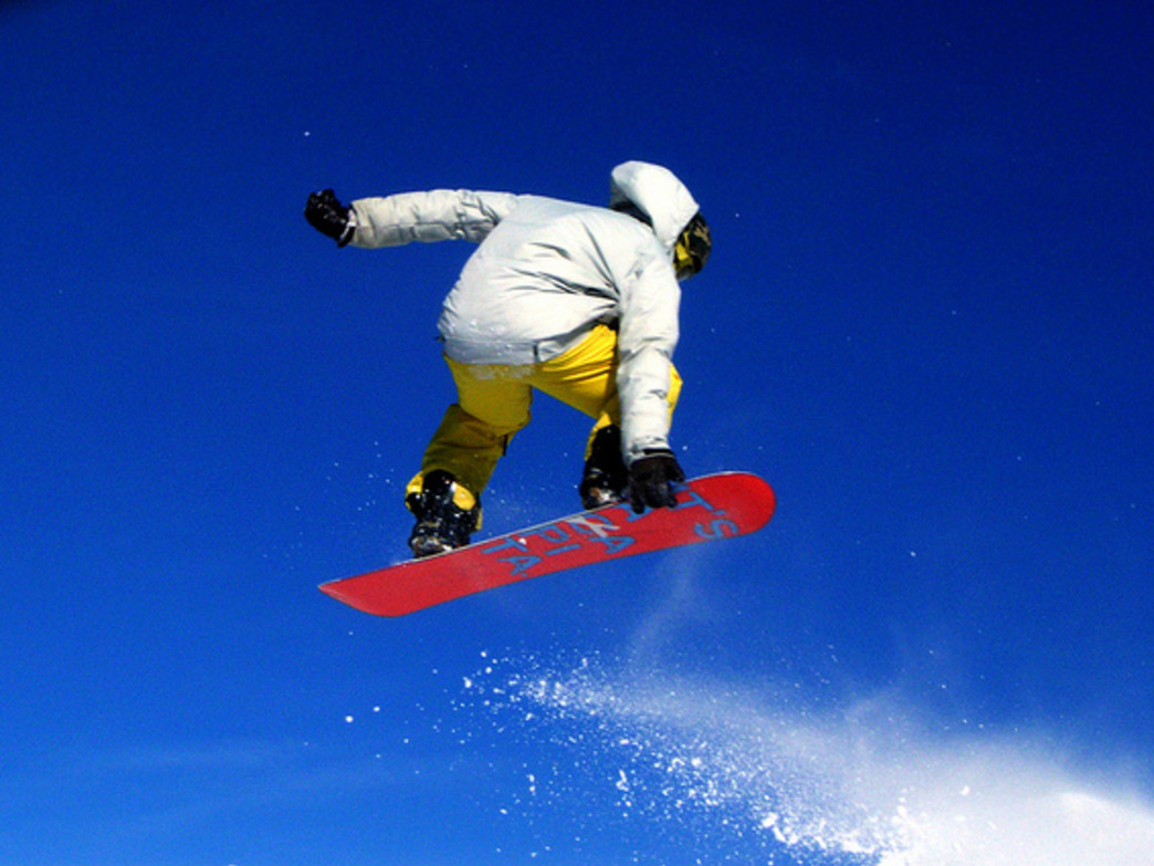 Developing core muscles and cardio strength are important for skiers and boarders.