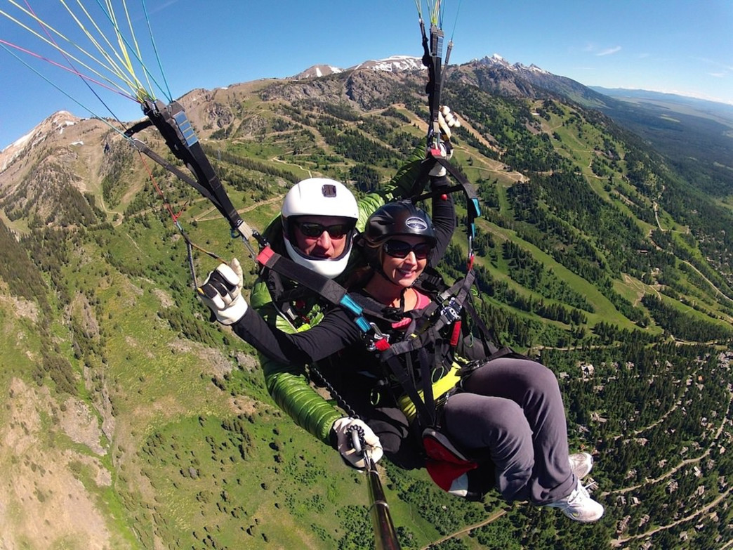 Have a high-flying adventure with a tandem paragliding experience.