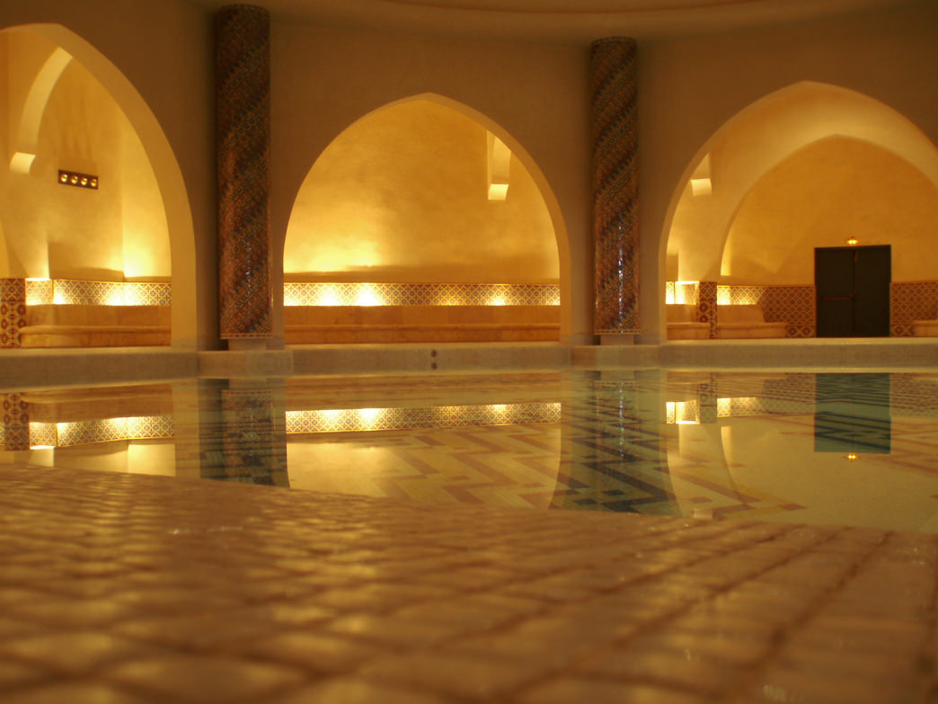 Treat yourself to a hammam, a bathing ritual that has been popular in the Middle East since Roman times.