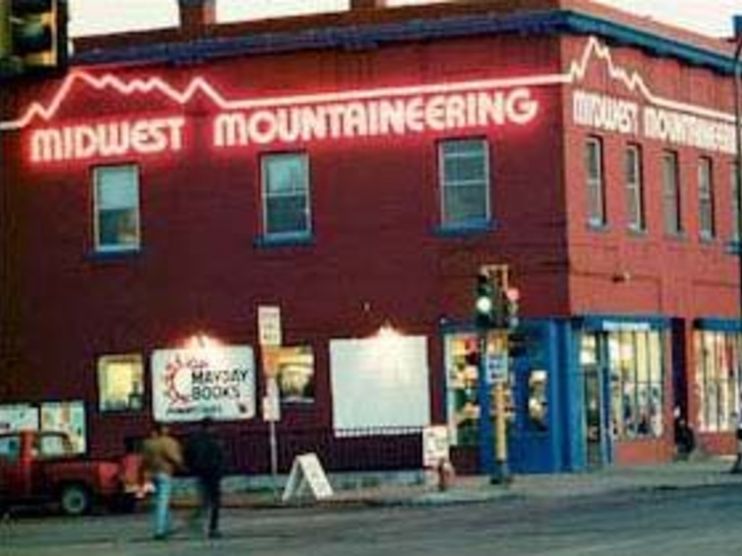 Midwest Mountaineering's Storefront on Cedar Avenue