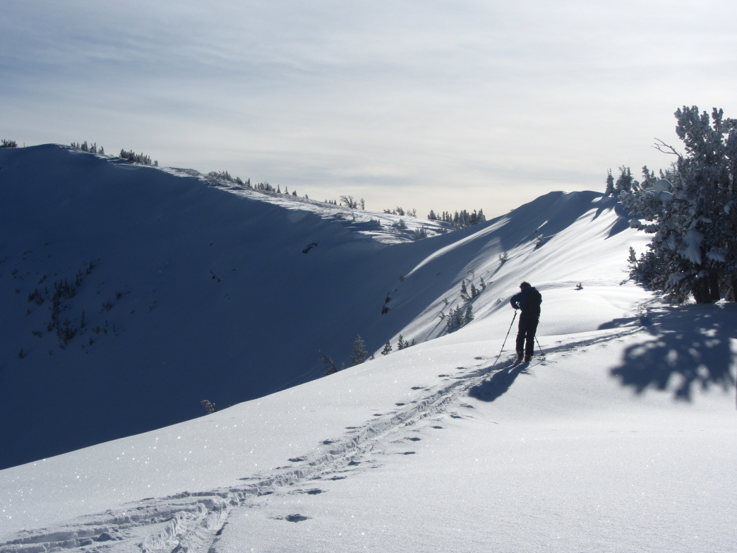 teton pass south side backcountry skiing and snowboarding