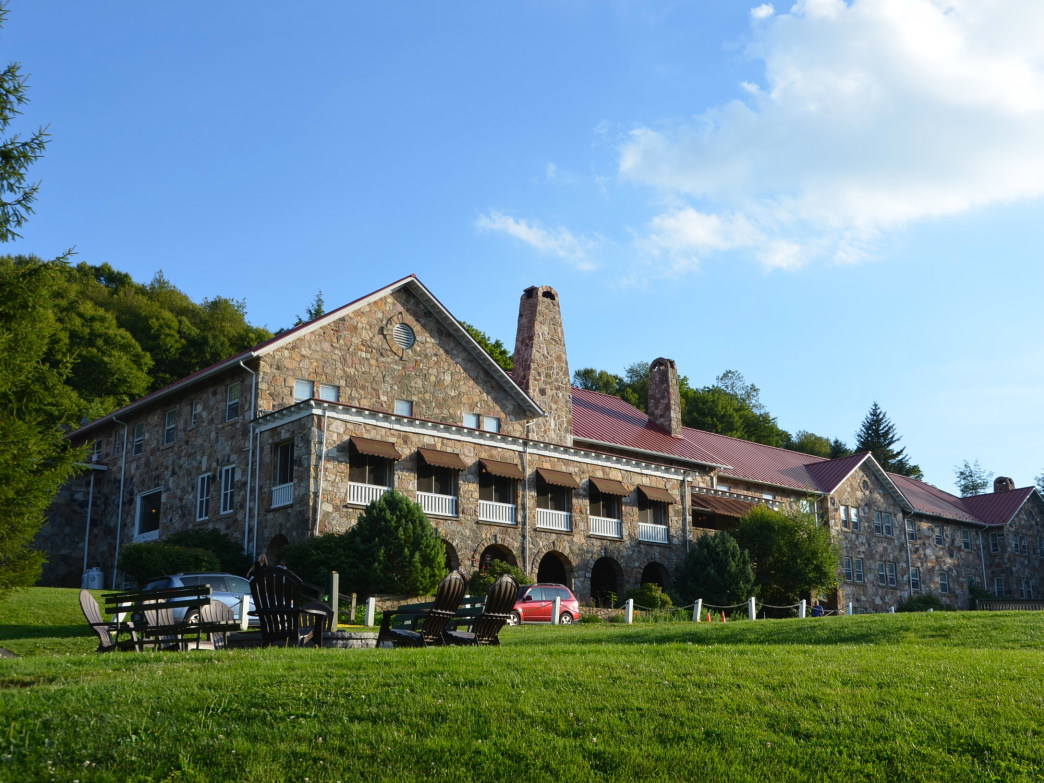 Mountain Lake Lodge serves as a great base of operations for exploring Giles County.
