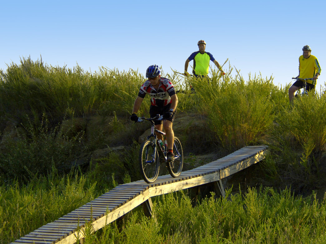 Mountwood Park is home to the Challenge at Mountwood, a popular mountain bike race.