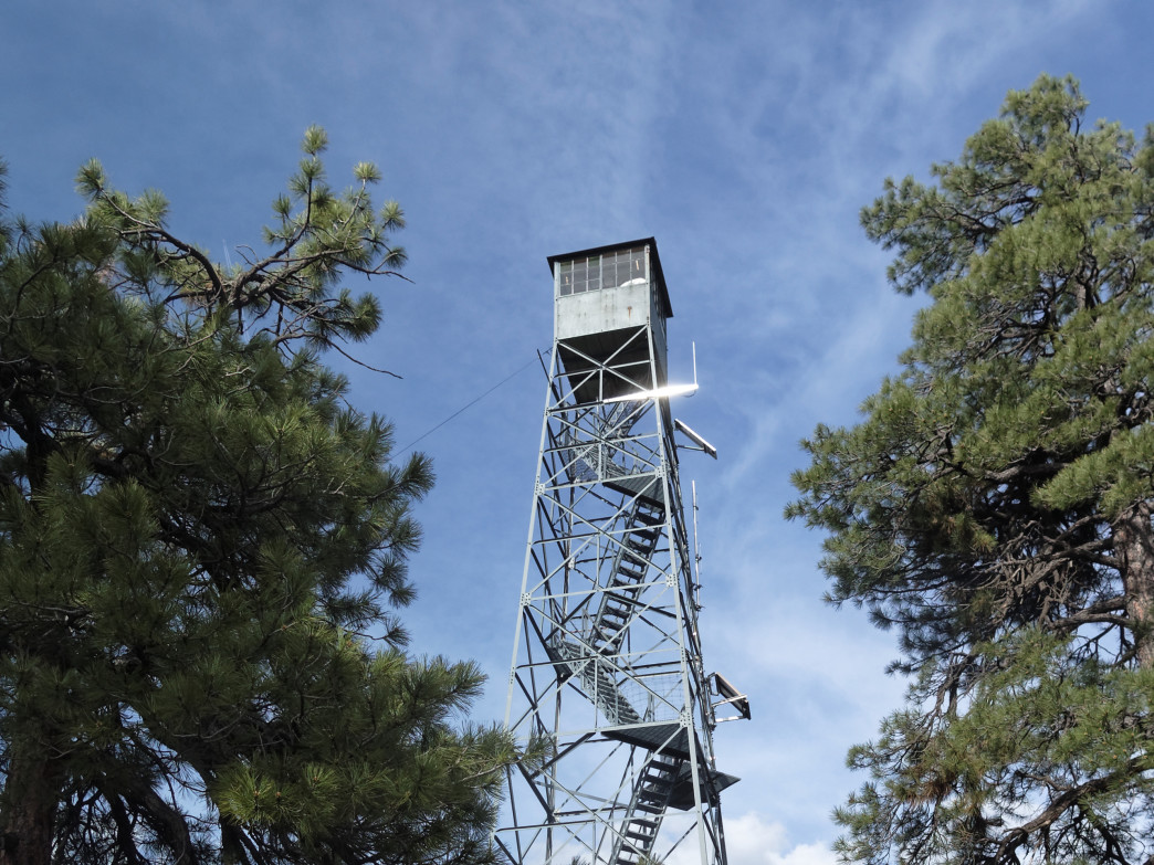 Grandview Lookout Tower, Arizona.