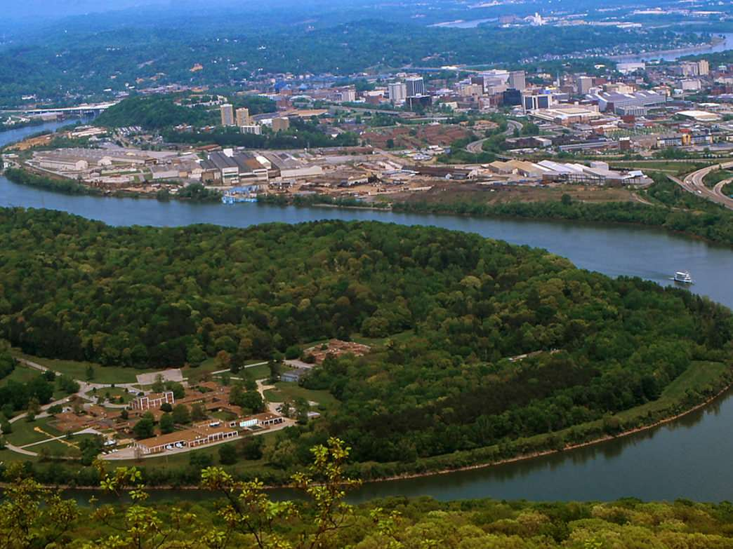 Modern day Moccasin Bend