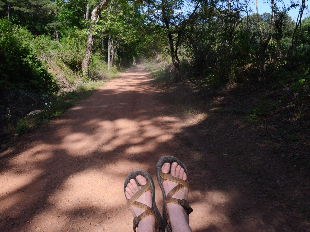On or off road, Chacos will keep your feet comfortable.