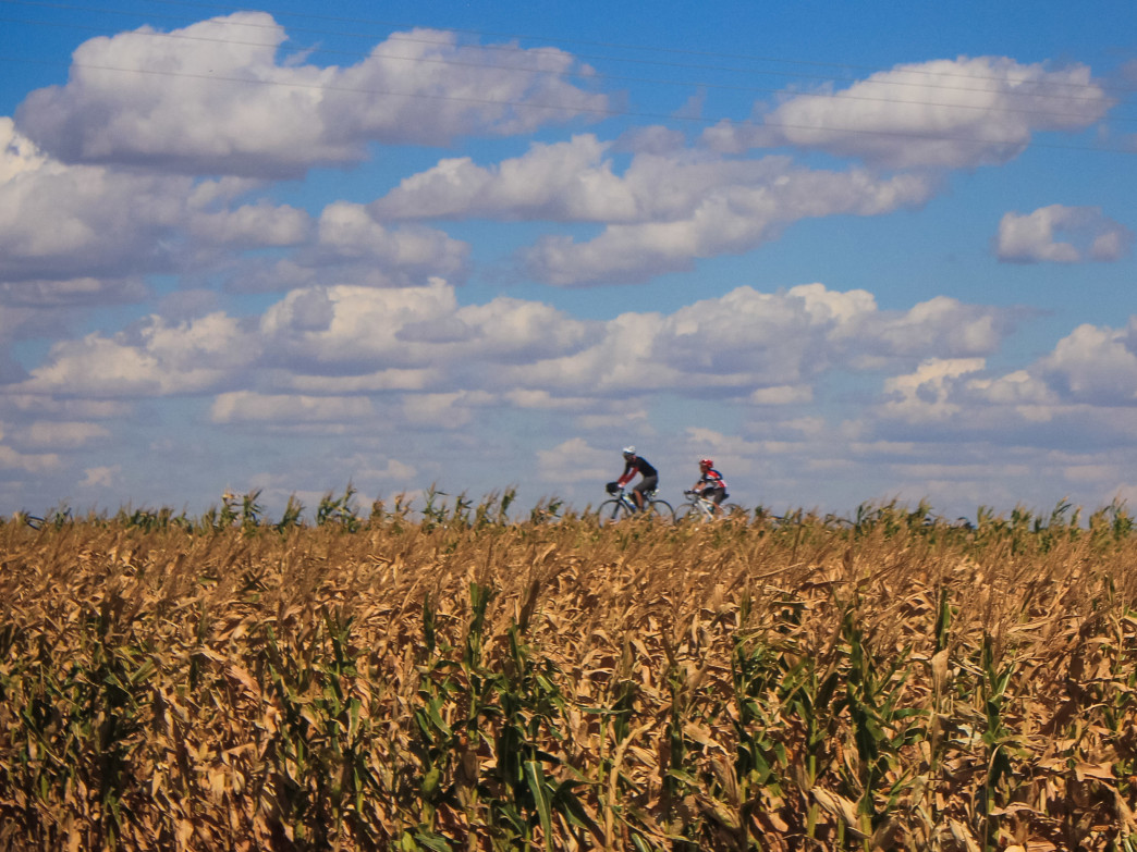 Pedal the Plains rolls through the eastern flatlands, offering a glimpse into Colorado's farming culture.