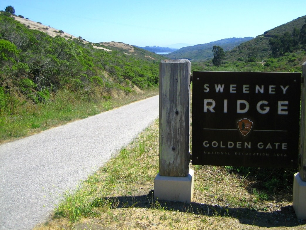 Sweeney Ridge, in Pacific, is part of the Golden Gate National Recreation Area.