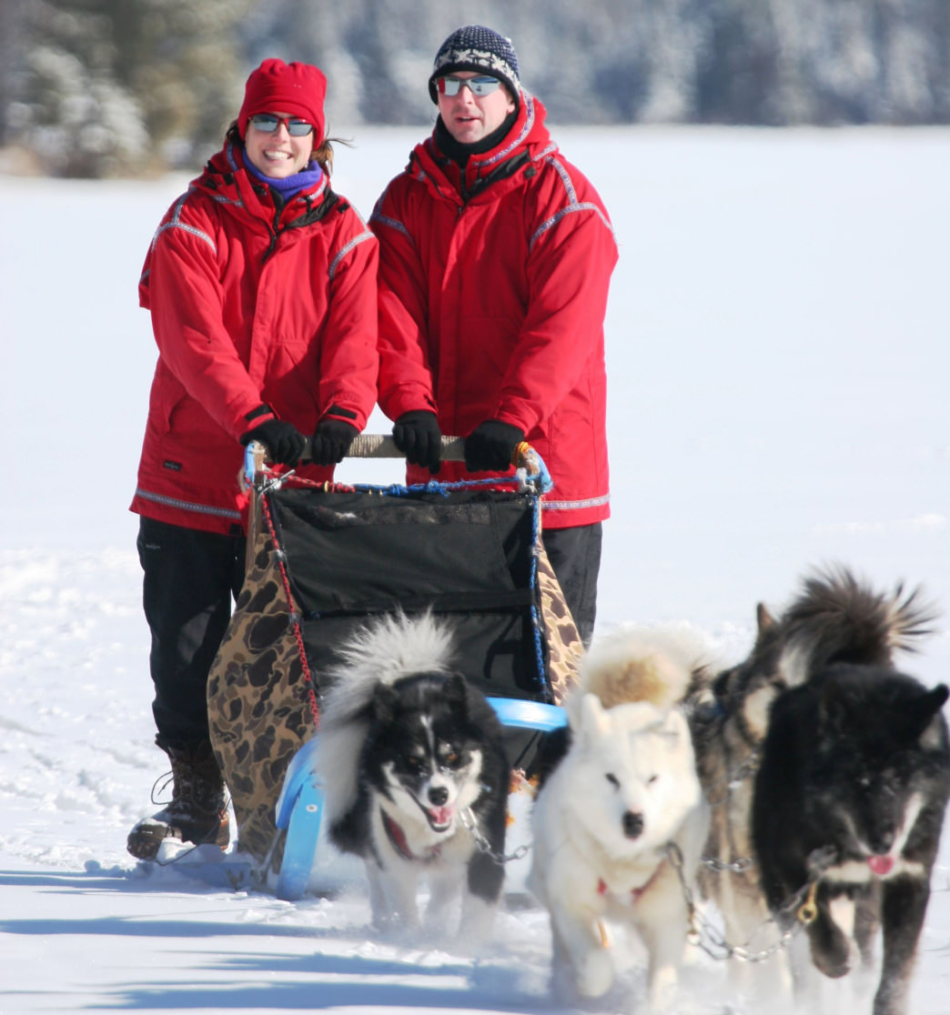 Wintergreen's most popular excursion is a 4-night dogsled vacation package that allows you to learn to mush your own team through the snowy Northwoods.