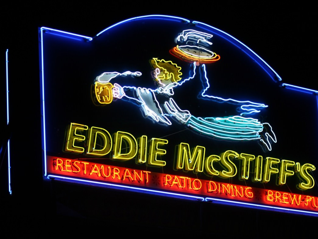 We can't think of a better name for a bar than Eddie McStiff's.