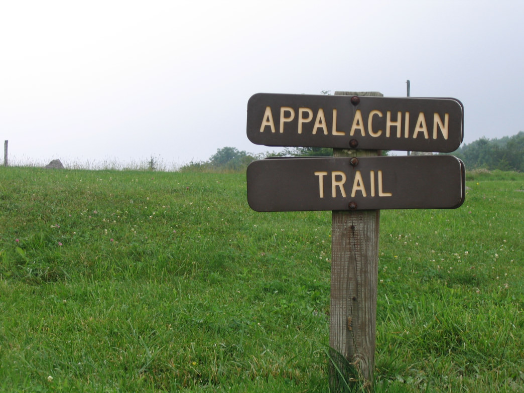 The Appalachian Trail goes through the Mount Rogers National Recreation Area.