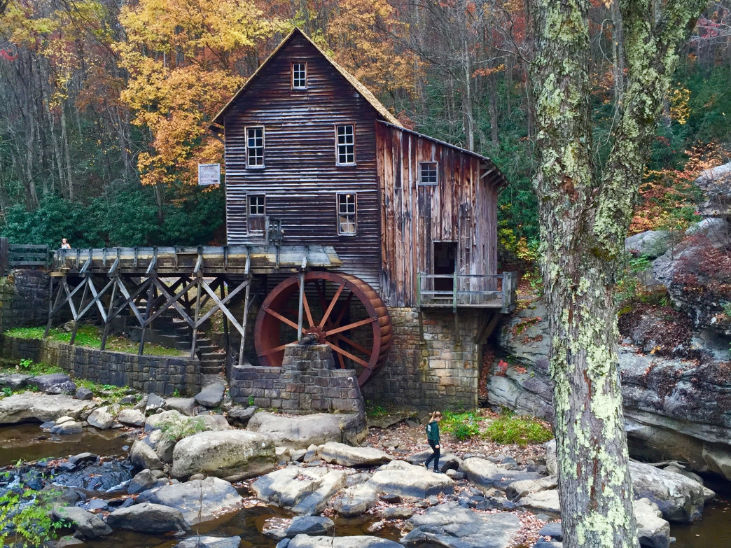 Glade Creek Grist Mill and Babcock State Park