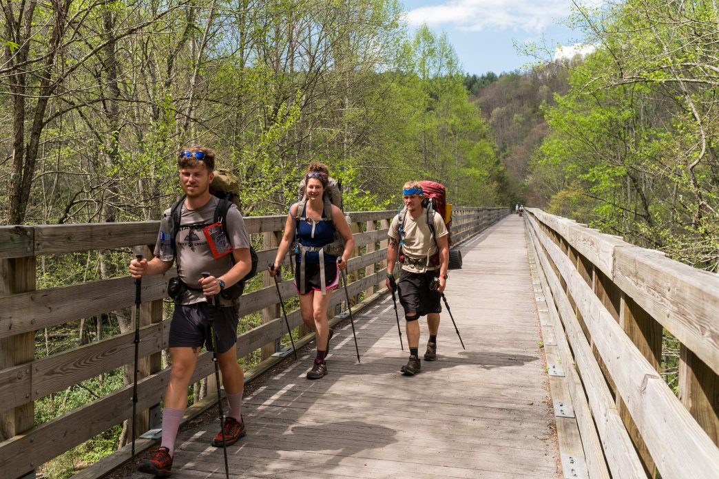 Some of the most scenic sections of the Appalachian Trail are found in Southwest Virginia.