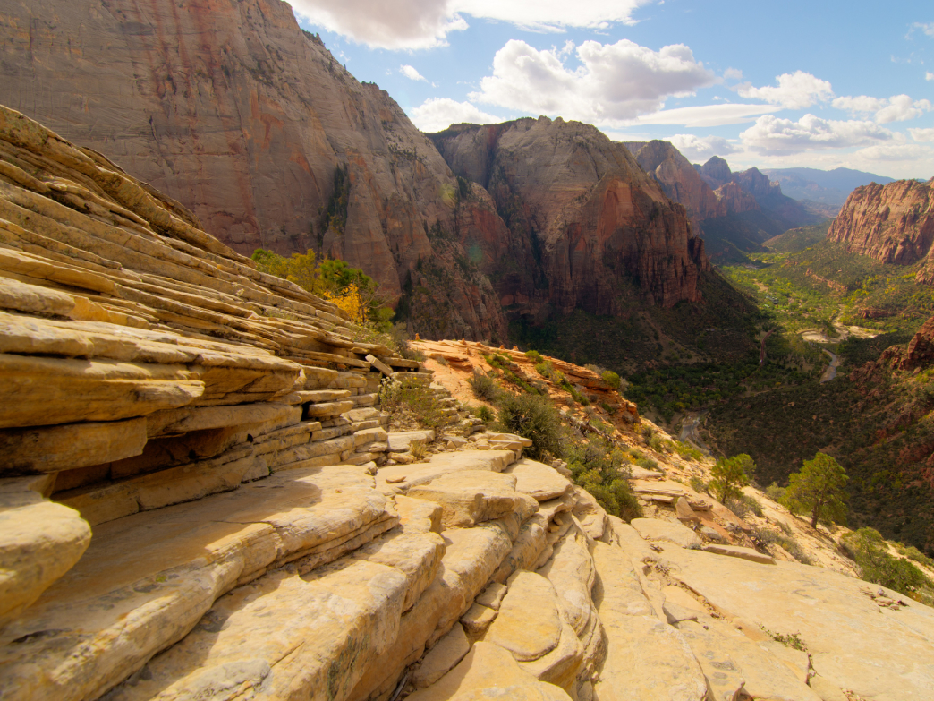 Angel's Landing is a heavenly place.