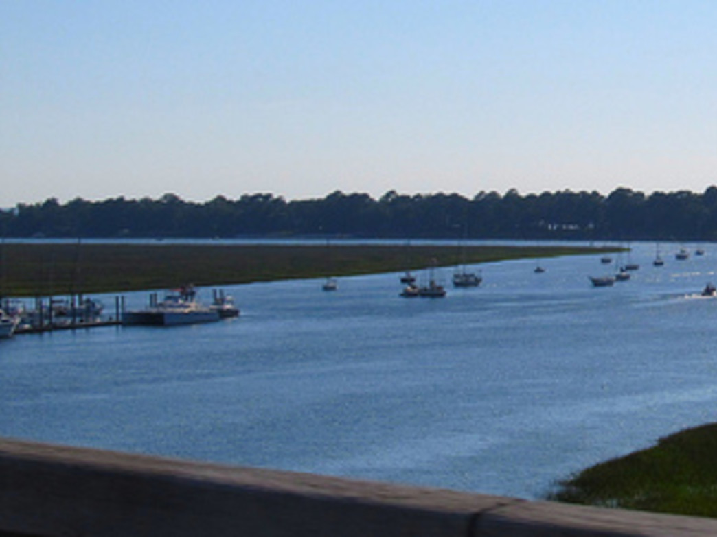 The view of Broad Creek
