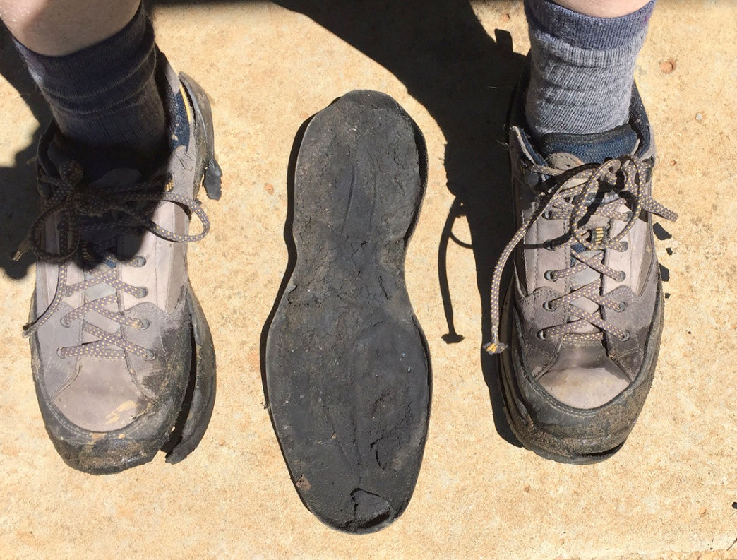 Somes shoes are beyond repair, but cleaning and drying footwear properly can extend the life of your gear. Marcus Woolf