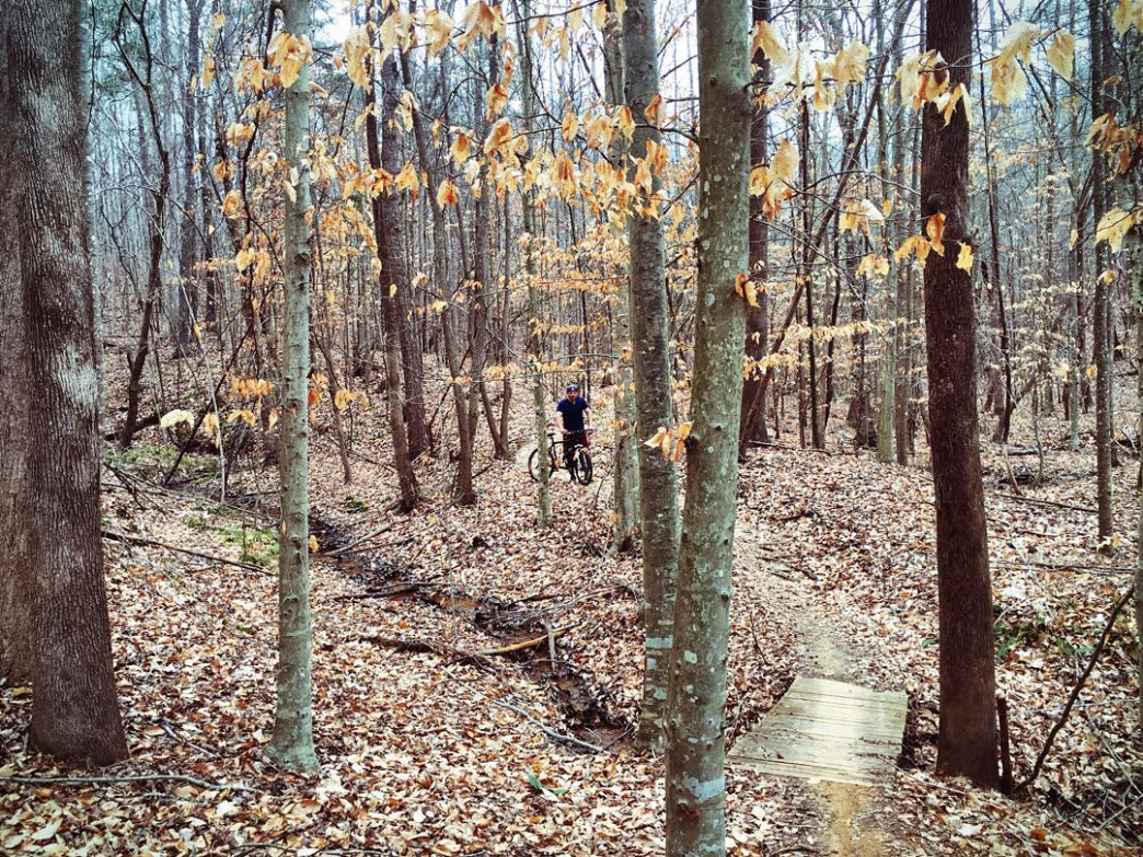 Chicopee Woods features more than 18 miles of trails.
