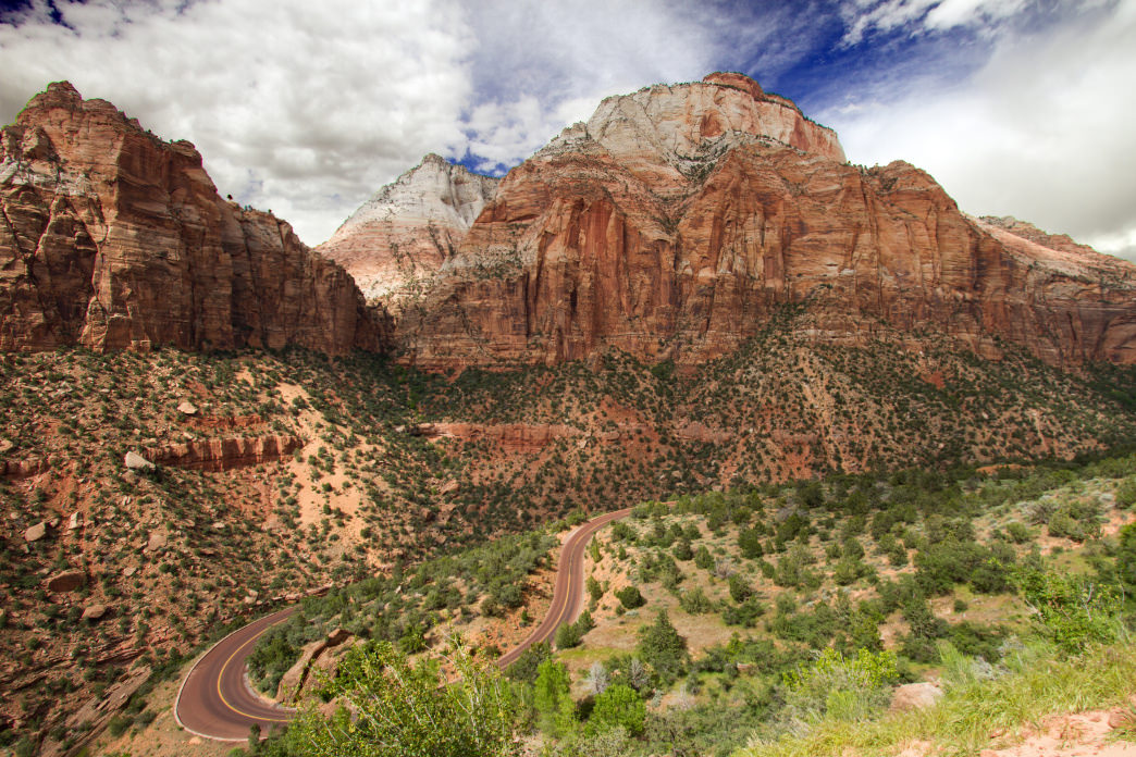 The East Entrance of Zion is a short distance from Kanab for an easy day visit.