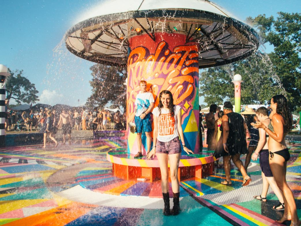 Bonnaroo Music and Art Festival.