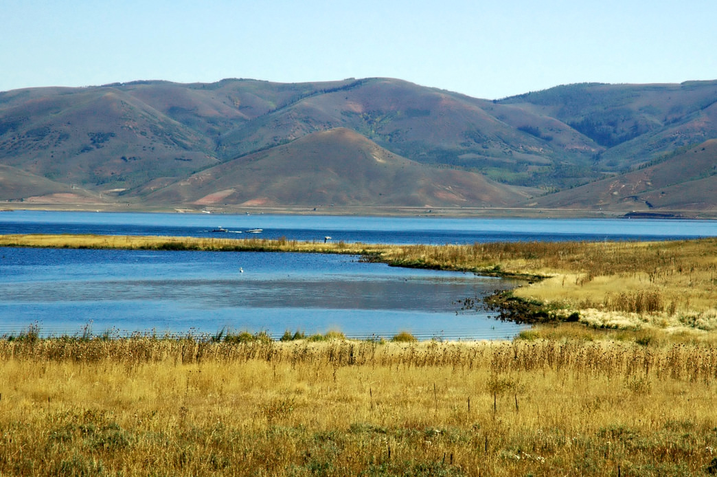 Relax at Strawberry reservoir with clean mountain water and fewer crowds.