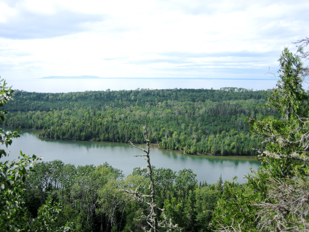 Greenstone Ridge Trail, Isle Royale National Park.