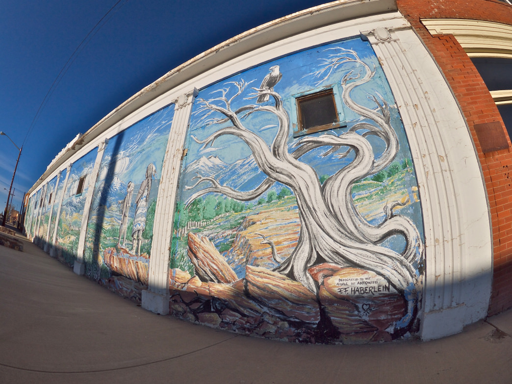 Fred Haberlein is a San Luis Valley native who's painted incredible murals all over the valley.