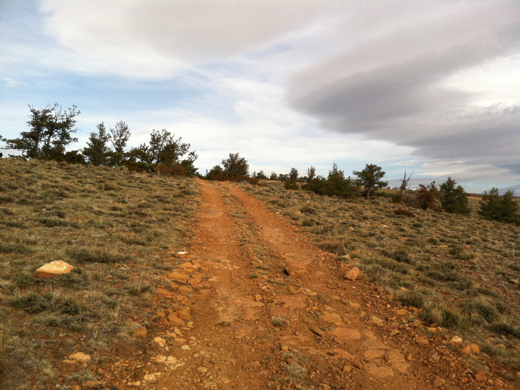 Check out the Outlaw Trail System, north of Cody, for wind-free options.