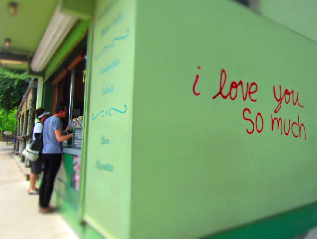 "Discover one of the most iconic, photographed spots in the city: the ""I love you so much"" wall. Shelley Seale"