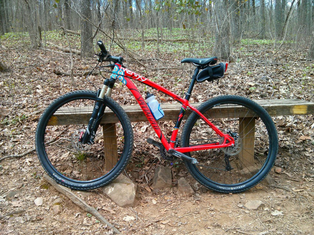 Monte Sano State Park is a great place for a ride.