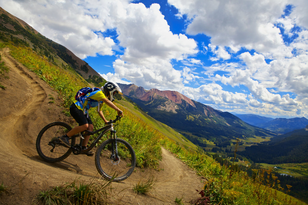 Crested Butte's sticky dirt and fast, flowy descents are a major highlight.