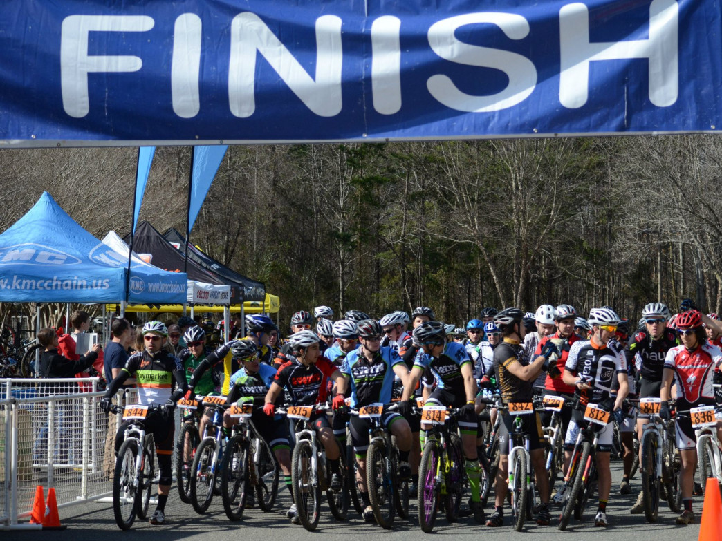 Races draw hundreds of riders each week.