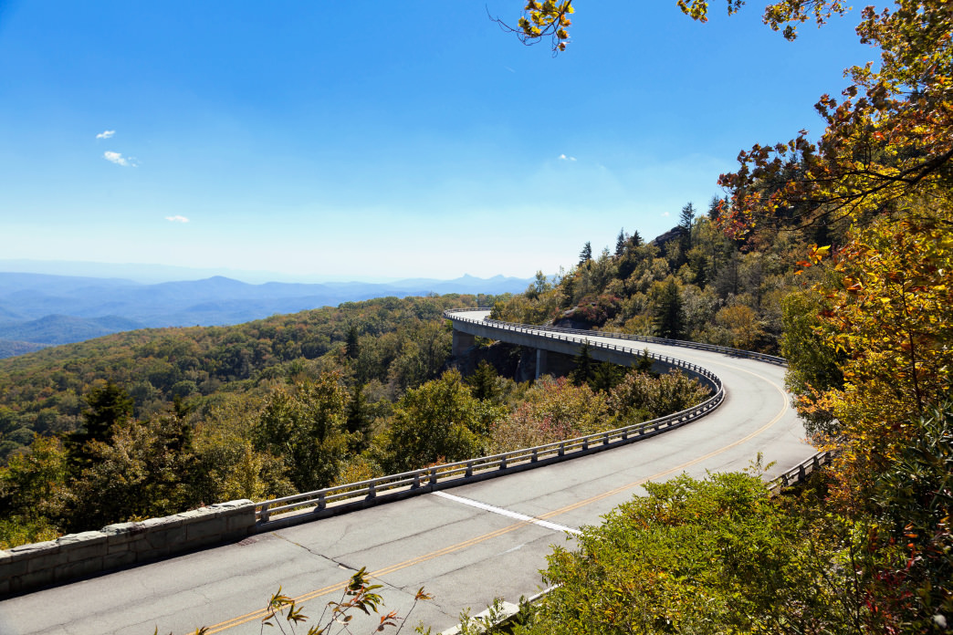 The Blue Ridge Parkway is one of the country's most iconic drives.