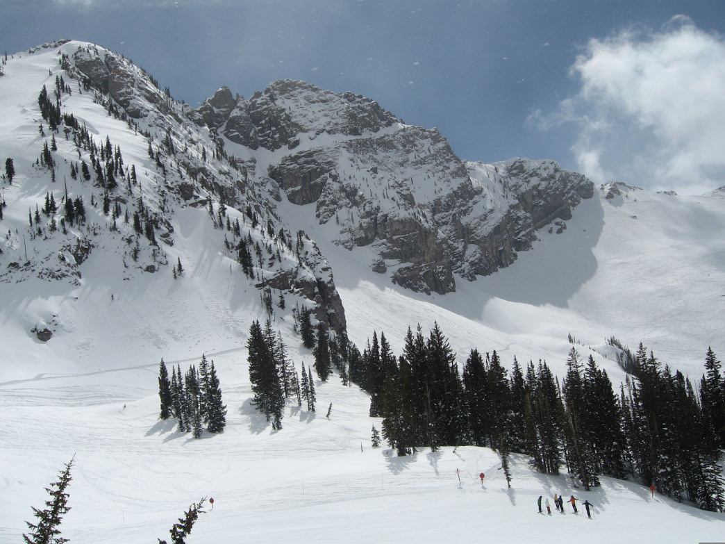 Alta is known for its ski school, which can help you learn the ins and outs of skiing deep powder.