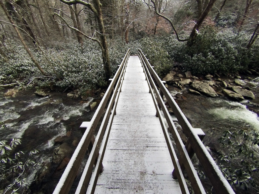Be adventurous and explore some of Knoxville's outdoor gems this winter.